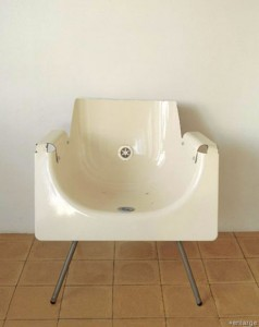 Astounding-recycled-bath-tub-chair